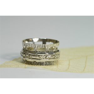 Spinner meditation ring - A171