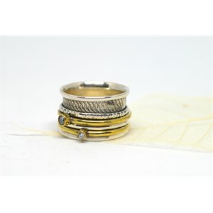 Spinner meditation ring - Destiny