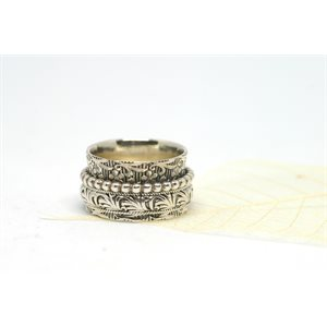 Spinner meditation ring - Constance