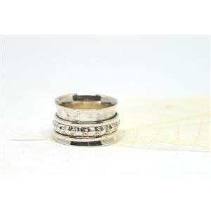 Spinner meditation ring - Serenity