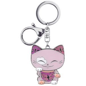 Mani The Lucky Cat - Porte-clés Charms - MGK013