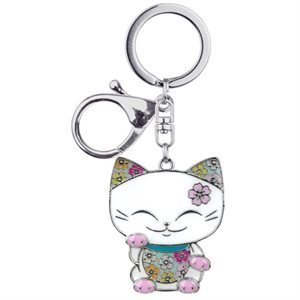 Mani The Lucky Cat - Porte-clés Charms - MGK014