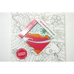 Coloriage créatif - Japon - Art Thérapie