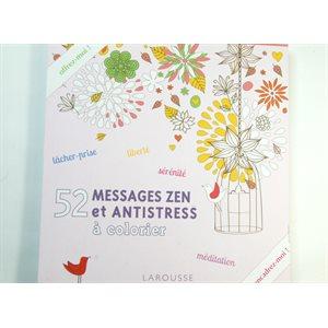 Coloriage créatif - 52 messages zen