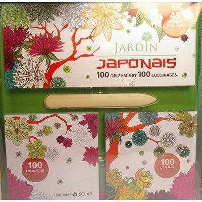 Jardin Japonais - 100 Origamis 100 Coloriages