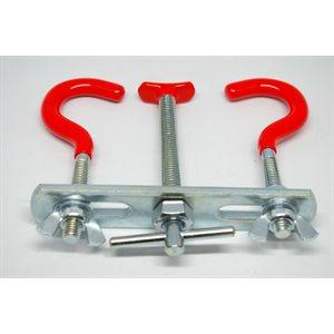 Ajustable Clamp (L) 110 x 130 mm