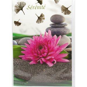 Carte - Lotus - Sérénité