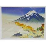 "Carte - Gihei ""Fuji en automne"""