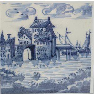 Card - Tile Boat / Swan