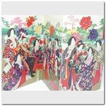 Carte - Ens.12 cartes - Hashimoto Chikanobu