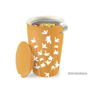 Tasse avec infuseur - Magnolia