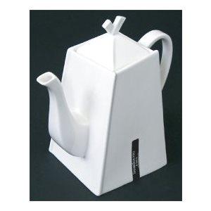 Théière Origami - 2 tasses blanches